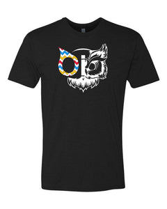 T-Shirt OiO Owl Black
