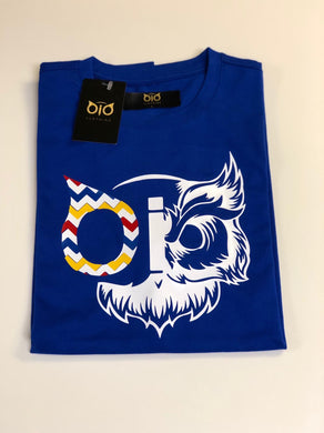 T- Shirt OiO Owl Blue