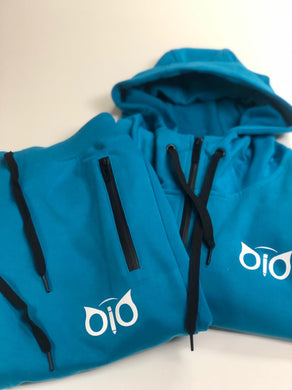 Set Hoodie and Sweatpant OiO Turquoise