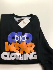 Sweater OiO Black, Blue, Orange OWC