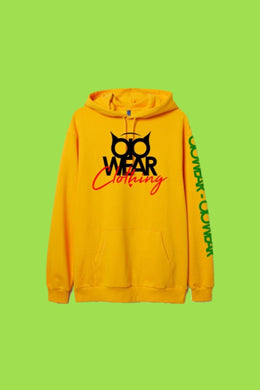 Hoodie OiO Yellow/Black,Green