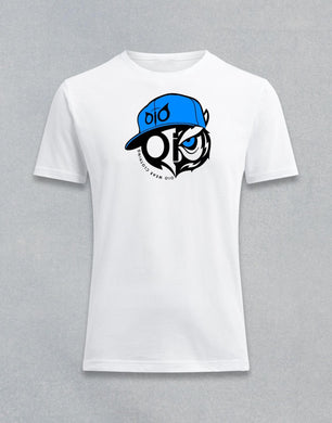T- Shirt OiO Blue Cap White
