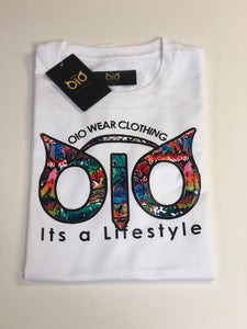 T-Shirt OiO Hood Graffiti White