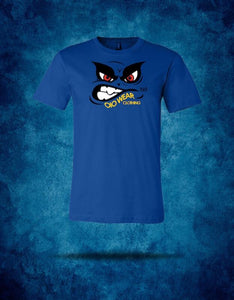 T-Shirt OiO Face Blue