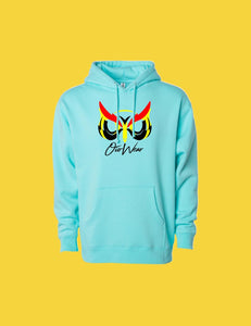 Hoodie OiO Sky Blue/Red,Black,Yellow
