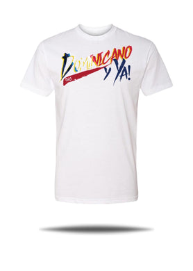 T-Shirt OiO Dominicano y ya! White