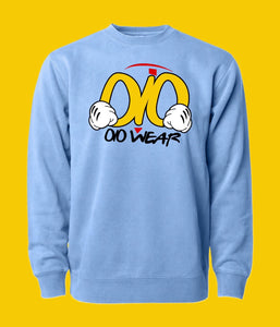 Sweater OiO Sky Blue/ Yellow,Red,White,Black