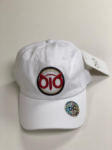 Cap White & Red ORG