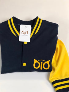 OiO Jacket Navy Blue & Yellow