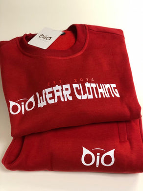 Set Sweater & Sweatpant OiO Red ORG
