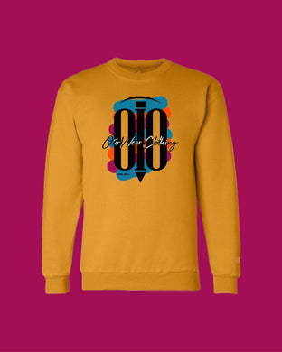 Sweater OiO Off Yellow/Black, Colored