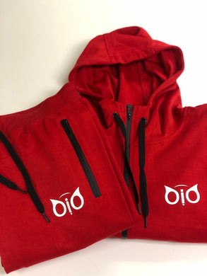 Set Hoodie and Sweatpant OiO Red