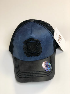 OiO Cap Shield Blue & Black