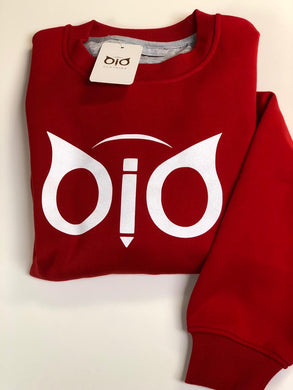 Sweater OiO Glitter Red & White
