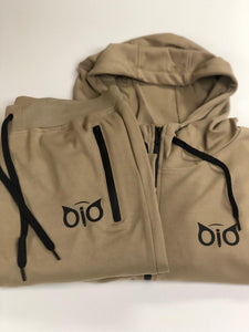 Set Hoodie and Sweatpant OiO Khaki