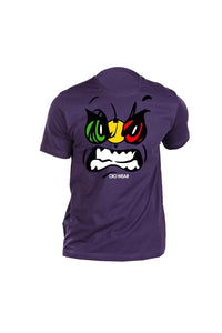 T-Shirt OiO Traffic Light Purple