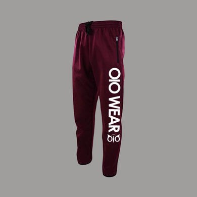 SweatPants OiO Burgundy/White