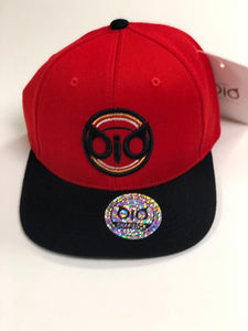 Cap OiO Snapback Red & Black