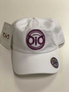 OiO Cap White & Purple ORG