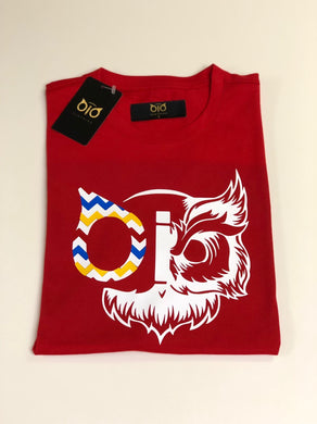 T- Shirt OiO Owl Red