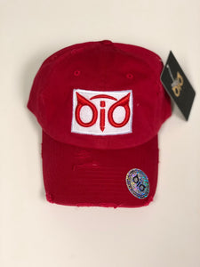 OiO Cap Red & White