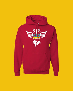 Hoodie OiO Red/White,Yellow,etc.