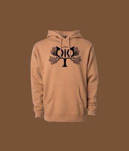Hoodie OiO Light Brown