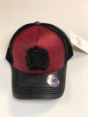 OiO Cap Shield Red & Black