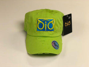 OiO Cap Green Lime & Blue