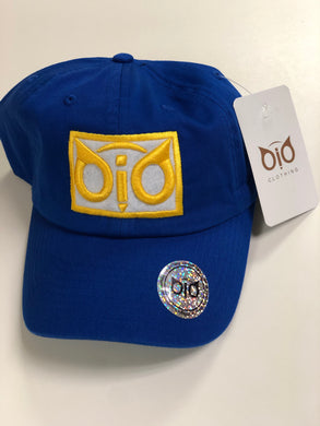 OiO Cap Blue, White & Yellow