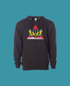 Hoodie OiO Black/ Red,yellow,etc.