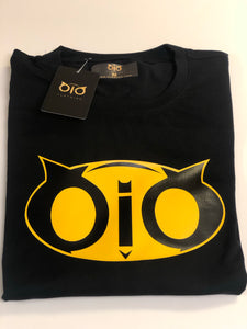 T-Shirt OiO Bat Black & Yellow