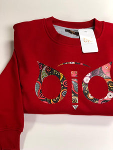 Sweater OiO Red Chinese