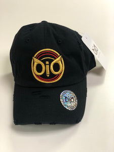 OiO Cap Black & Gold ORG