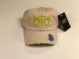 OiO Cap Khaki & Green Lime