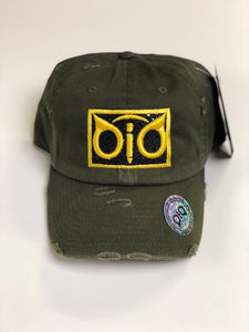 OiO Cap Olive Green & Yellow