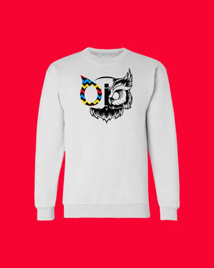 Sweater OiO Premium White/Owl