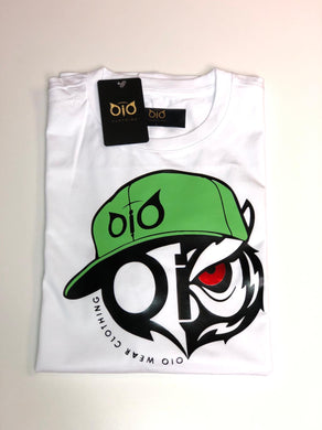 T-Shirt OiO Green Cap White