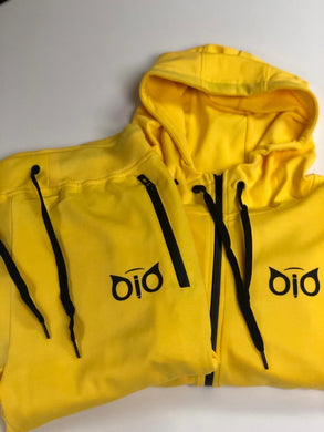 Set Hoodie and Sweatpant OiO Yellow