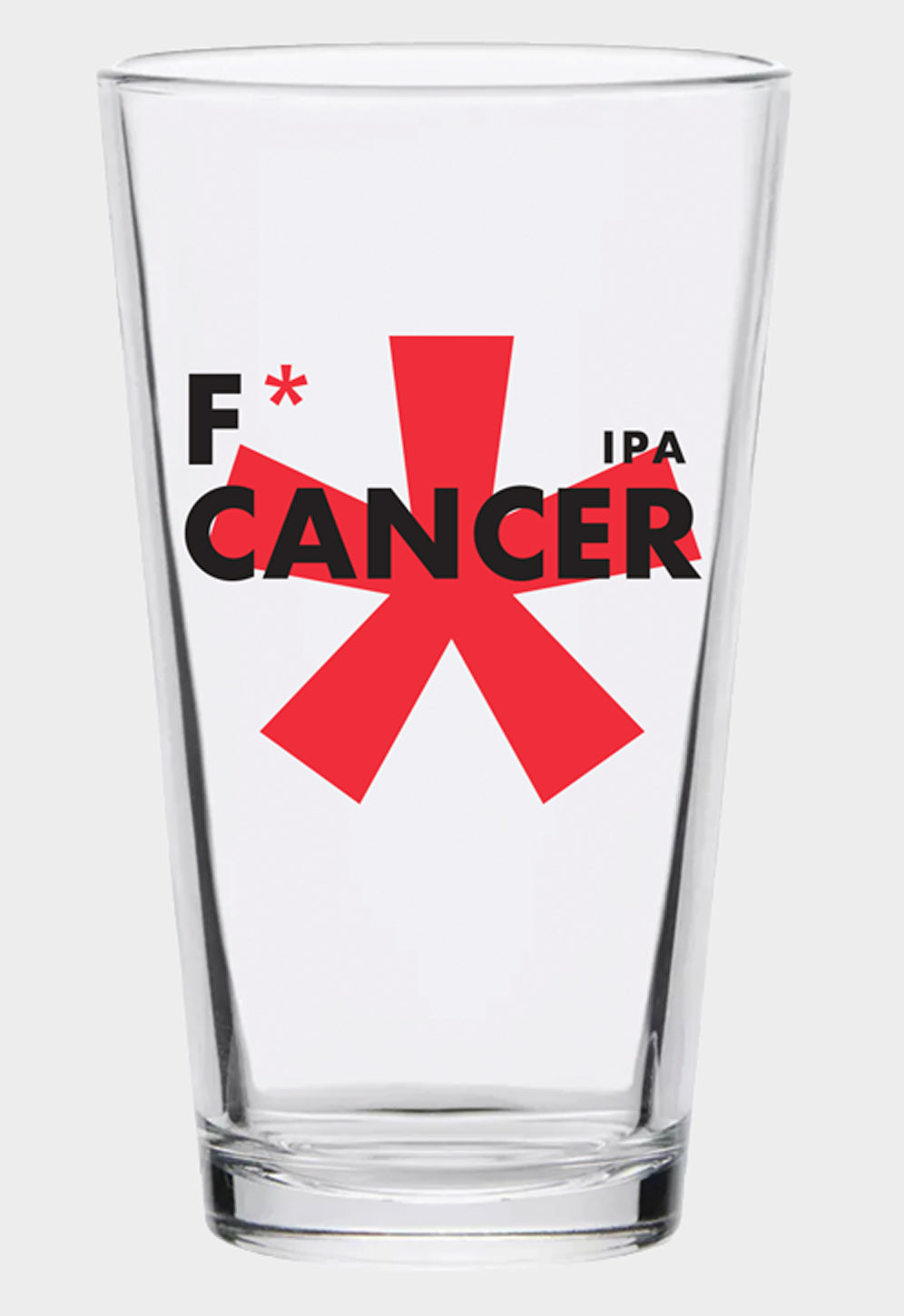 F* Cancer Pint Glass