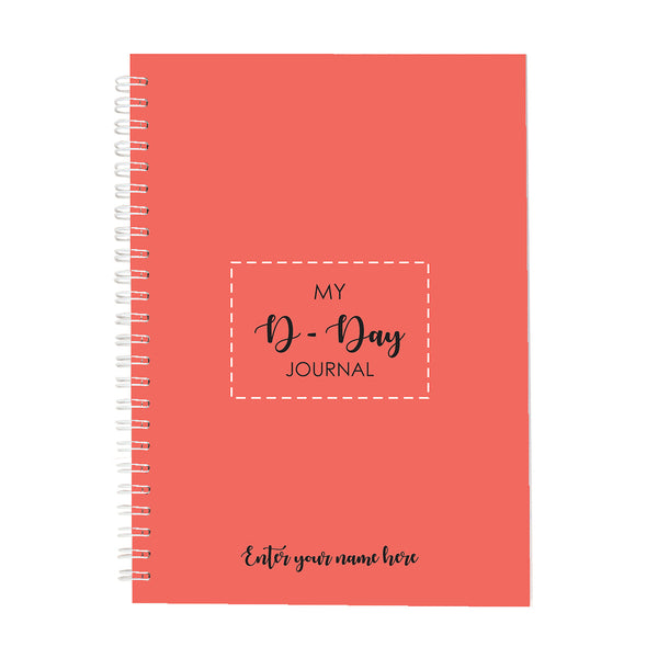 D Day Custom Notebook