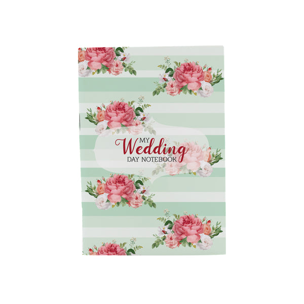 My Wedding Day Floral Jotbook