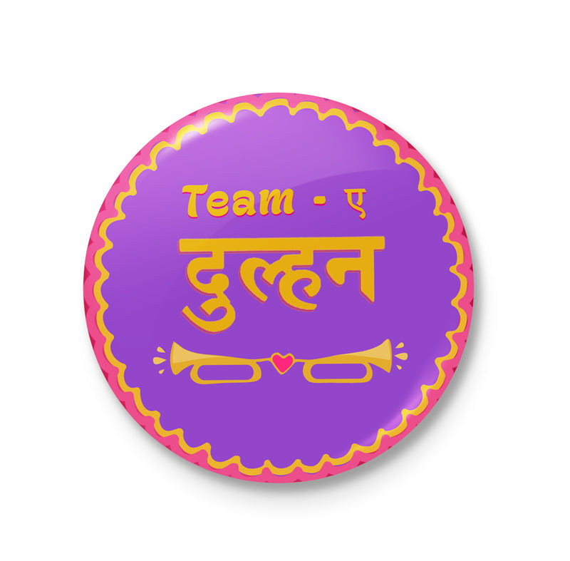 Team-e-Dulhan Badge