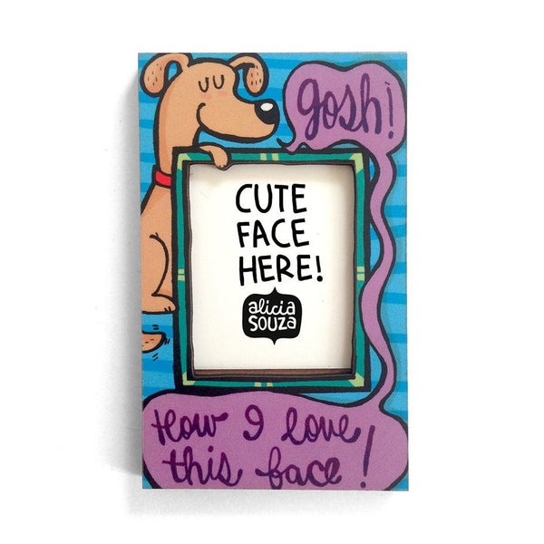 Magnetic Frame - Love This Face!-Refrigerator Magnetic Frame SMALL
