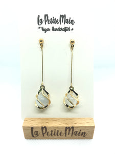 """Cat Eyes"" Dangle Earrings"