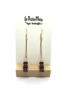 Dangle Earrings Dripping