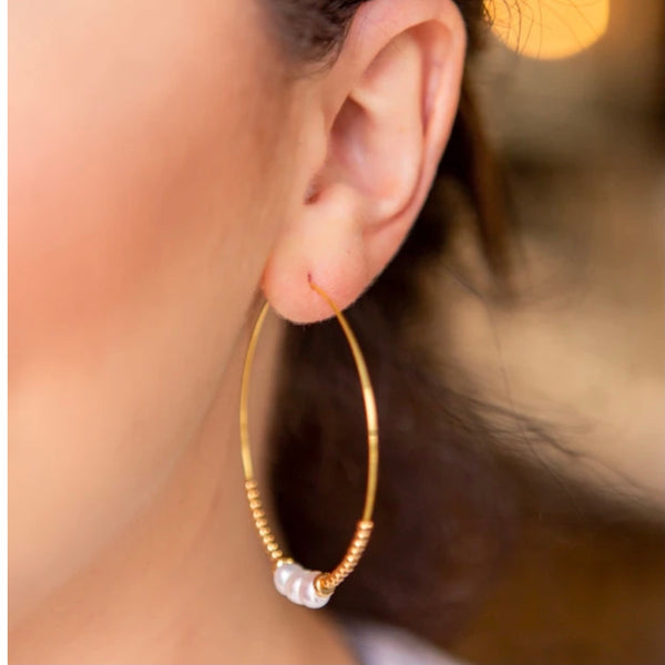 Lenny & Eva Gemstone Gold Earrings available in additional colors