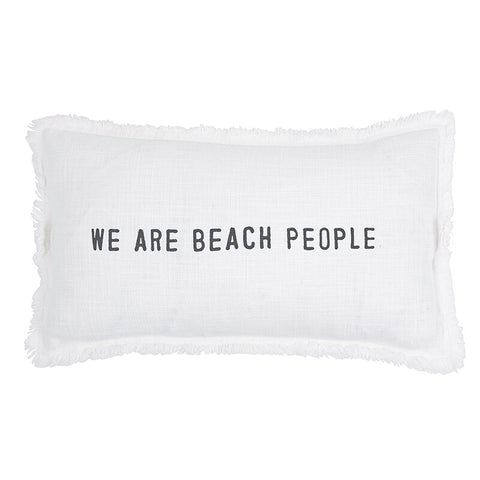 SBDS Face to Face Rectangle Sofa Pillow - We Are Beach People