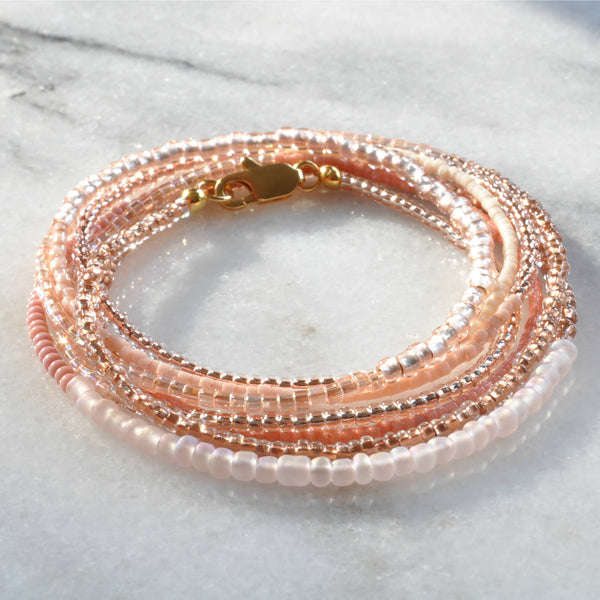 Libby & Smee Beaded Wrap Bracelet and Necklace available in additional colors