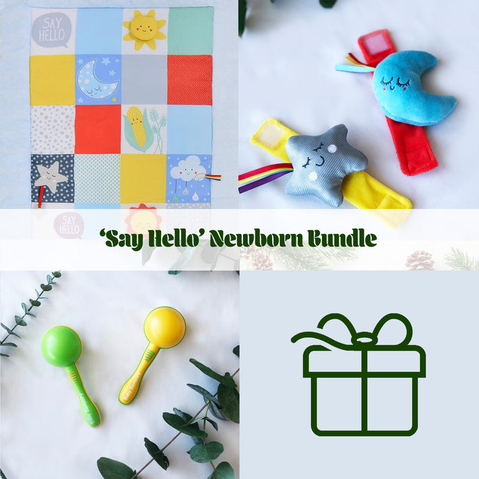 'Say Hello' Newborn Bundle